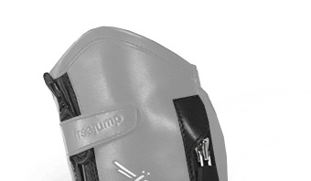 Système de double zip (chaps liberty air, bottes foxy, bottes liberty one)